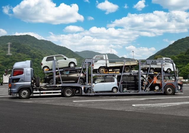 納車は陸送で自宅まで持ってきてもらうことも可能